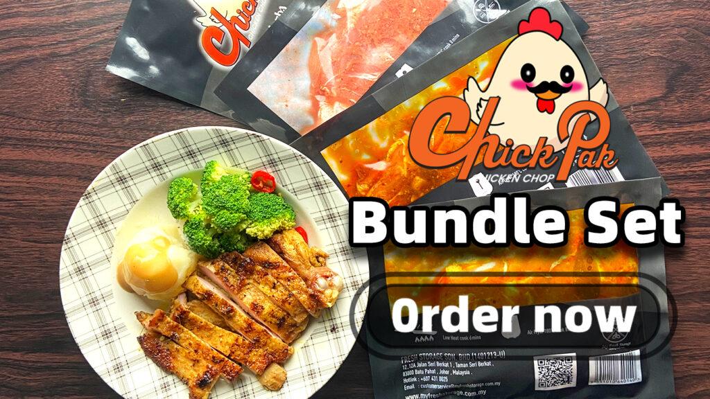 chick pak bundle set